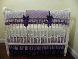 Purple Nursery Bedding Sets Purple Crib Bedding Set Hermione Baby Bedding