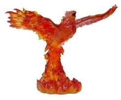 WIZARD SUMMONED GOLDEN PHOENIX STATUE TOM WOOD FIGURINE HOME DECOR - Home decor phoenix