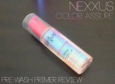 Nexxus Color Assure Pre Wash Primer - wella professionals velvet amplifier wetstyle primer review