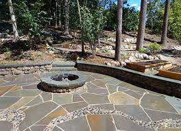 Irregular Stone Patio Bluestone Flagging