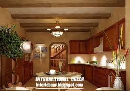 kitchen ceiling ideas rustic kitchen ceiling false design classic kitchens tierra este