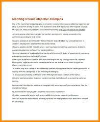Resume Sle Objectives Sop Proposal - objectives as a teacher gidiye redformapolitica co
