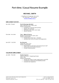 Resume For A Summer Job by 28 How To Make A Resume For Summer Job Examples Of Resumes