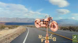 Nautical Weathervane Motorcycle Weathervane