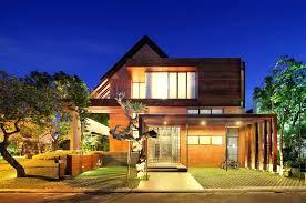 Tropical Design Houses Contemporary Minimalist Tropical House