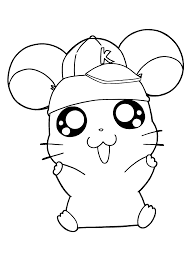 hamtaro coloring pages 햄토리 색칠공부 pinterest hamtaro
