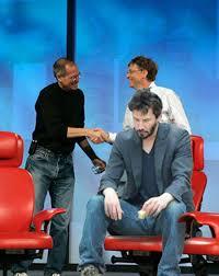 Bill Gates And Steve Jobs Meme - dixi world sad keanu reeves mega collection