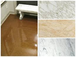 How To Match Laminate Flooring How To Customize Your Concrete To Match Your Decor Garage Floor