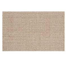 Mini Pebble Wool Jute Rug Natural Wool Rug Roselawnlutheran