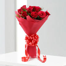 Bouquet Of Roses Flowers Bouquet Online Flower Bunches Free Delivery Ferns N Petals
