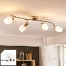 Wohnzimmerlampe 5 Flammig Led Deckenlampe Arda 4 Flammig Dimmbar Per Schalter Lampenwelt