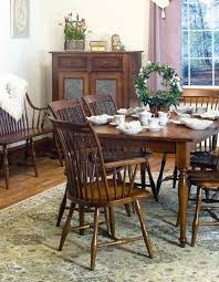 Amish Dining Room Furniture Amish Design Your Own Rectangular Dining Room Table