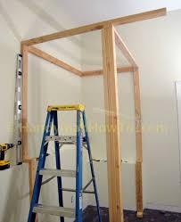 Barn Wood Basement How To Build A Basement Closet