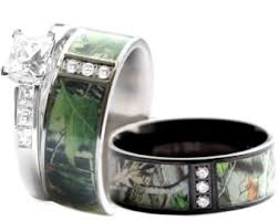 camo wedding rings sets camo wedding rings etsy