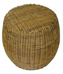 Basket Ottoman by Amazon Com Real Wicker And Rattan Ottoman Foot Stool Kitchen