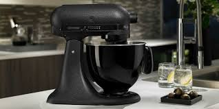 black tie stand mixer kitchenaid artisan black tie mixer gadget flow