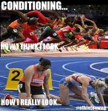 Track And Field Memes - got to love a blonde joke i hate picking on blondes but they do