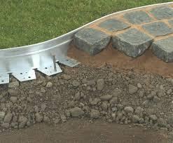 lawn edging aluexcel aluminium hard surface landscape edging