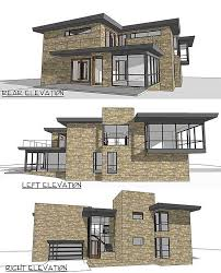house plans with rear view modern house plans with rear view housedecorations