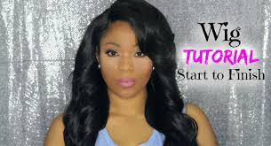 hair tutorial how i make a full wig with lace closure deep
