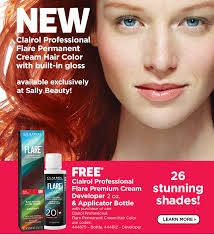 clairol professional flare hair color chart sally beauty clairol beautiful hair coloring clairol hair color