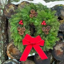 live christmas wreaths fresh christmas wreaths for front door table centerpieces