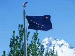 Flag Ceremony Meaning Alaska Flag State Flag Of Alaska