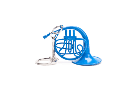 blue horn keychain inspired by how i met your