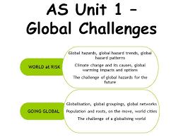 Challenge Causes Its Gce 2008 World At Risk Global Hazards Global Hazard Trends