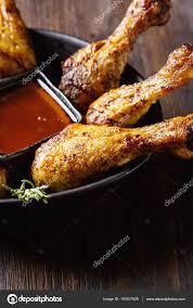 cuisine pour noel cuisses de poulet frit sauce cuisine pour noël backgroun foncé