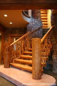 59 best cabin railings for steps images on pinterest log cabins