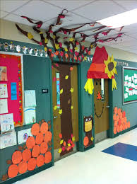 fall door decoration ideas drone fly tours