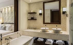 Deluxe Rooms The Romanos Resort Costa Navarino - Resort bathroom design