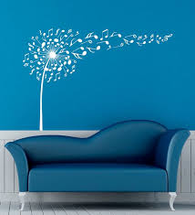 music note home decor music notes wall decal vinyl stickers music dandelion home interior