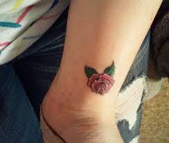 rose on left wrist small rose tattoo wrist neat and beautiful rose