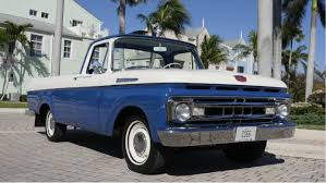Old Ford Unibody Truck - 1961 ford f100 for sale youtube