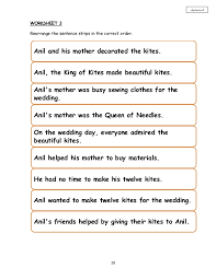 king of the kites year 4 short story