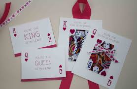 Designs Of Making Greeting Cards For Valentines Free Printable You U0027re The King Of My Heart And Queen Gcg