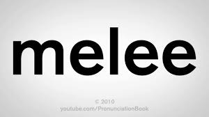 how to pronounce melee youtube