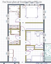 free house plan free house plan deluxe ranch with an deck