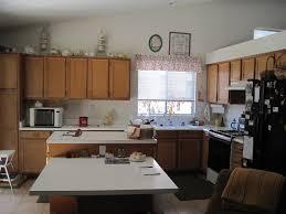 kitchen design ideas oak wooden kitchen island table with white