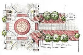 plaza concept landscape pinterest landscaping