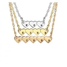 children s initial necklace for children s initial necklace for opersonalized