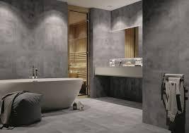 bathroom design trends bathroom interior concrete effect tiles and wood bathroom design