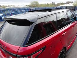 range rover sunroof open used land rover range rover sport 3 0 v6 bi turbo black series