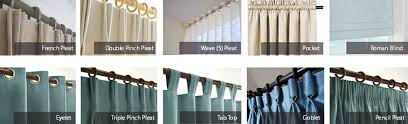 Types Of Curtains Decorating Wonderful Types Of Curtains Designs With Curtains Types Of