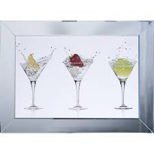 shh interiors cocktail glasses white background framed liquid