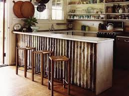 metal kitchen island corrugated metal diy 5 things you can make timber kitchen and for