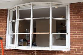 before u0026 after modern bow window replacement windows from