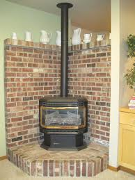Cheap Wood Burning Fireplaces by What Can I Do With This Ugly Free Standing Fireplace And Ugly Brick